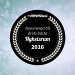 Småföretagarnas Riksförbund nominerad till Årets Nyhetsrum 2016!