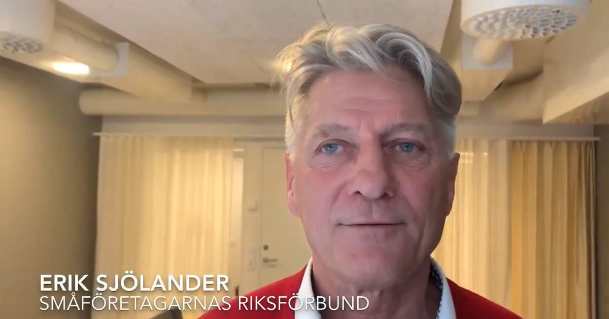 Småföretagarnas Riksförbund: Pengar behövs nu, inte om en månad