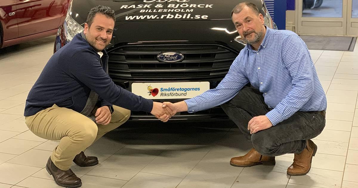 SUPER-avtal med Ford för småföretagare