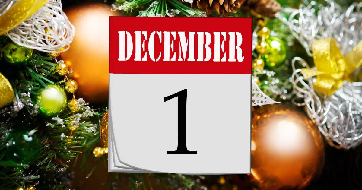 Julkalender lucka #1 – 2019