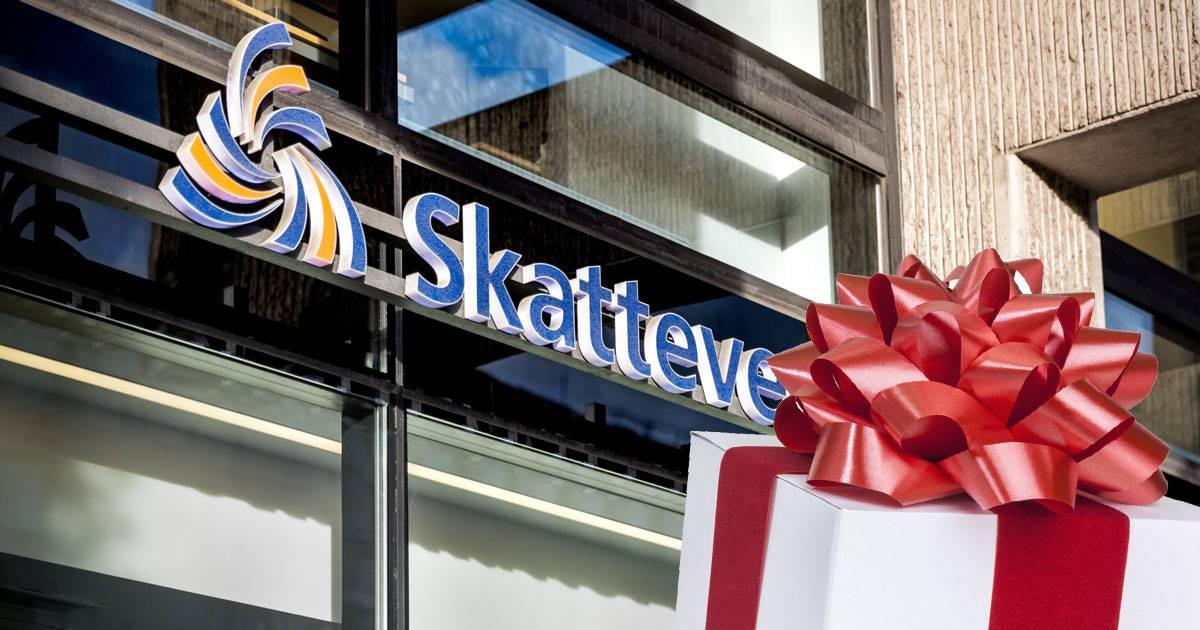 Skatteverket julhandlar hos företag som begärts i konkurs