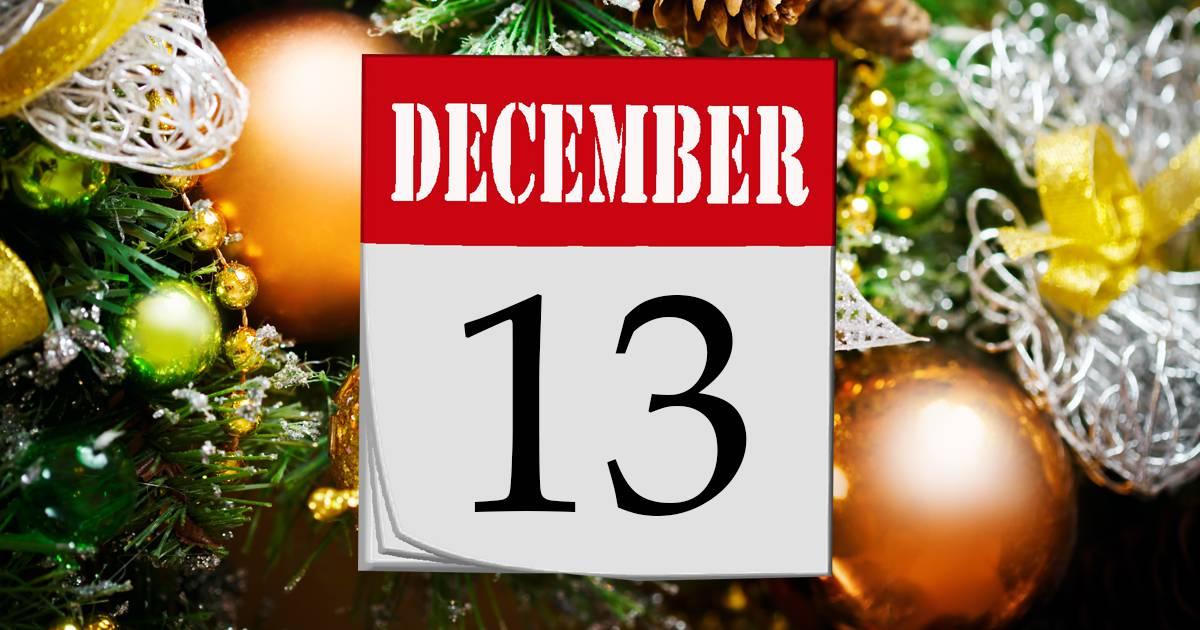 Julkalender lucka #13