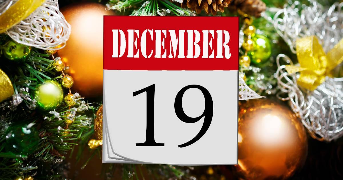 Julkalender lucka #19