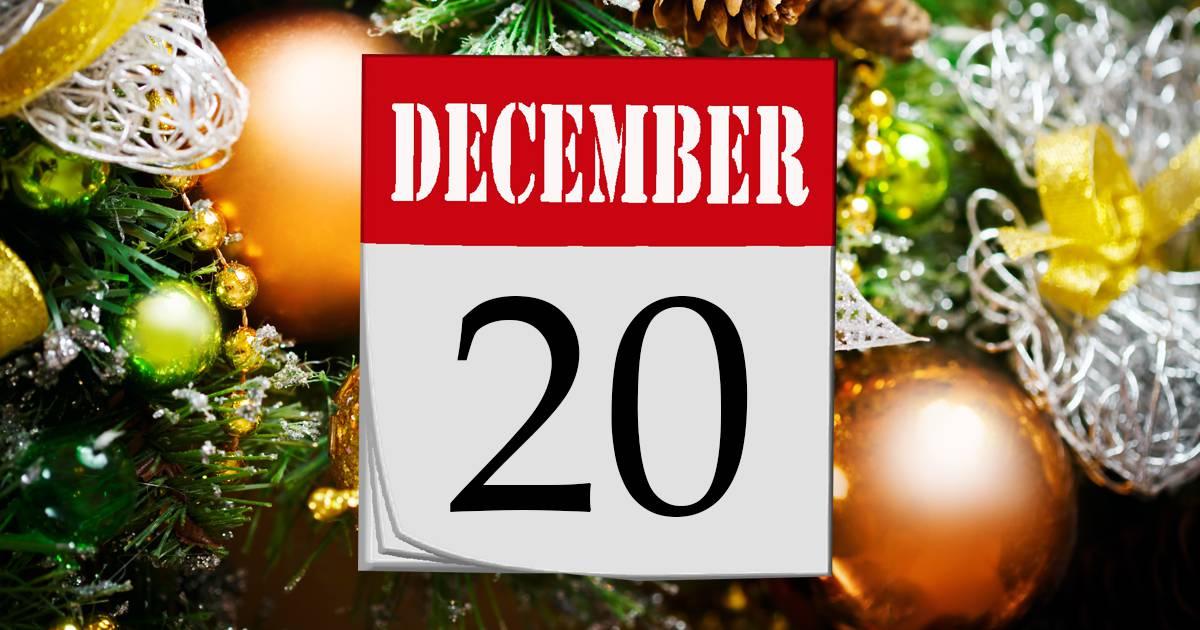 Julkalender lucka #20