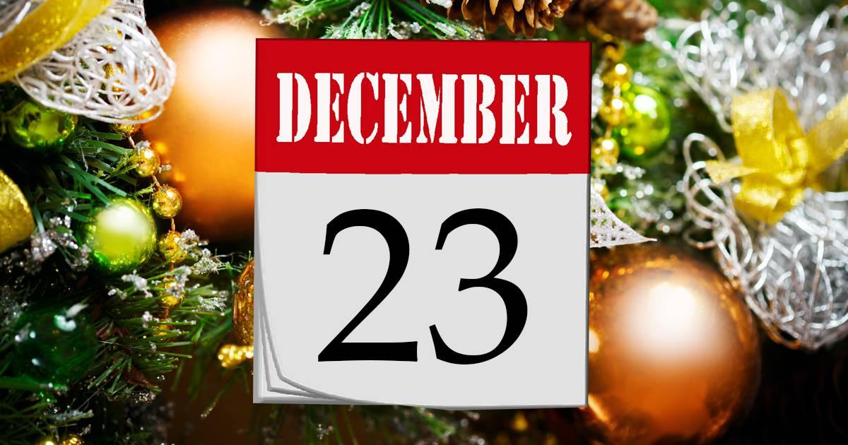 Julkalender lucka #23