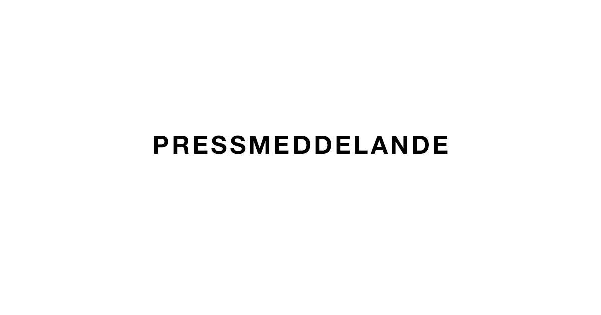 Pressmeddelande