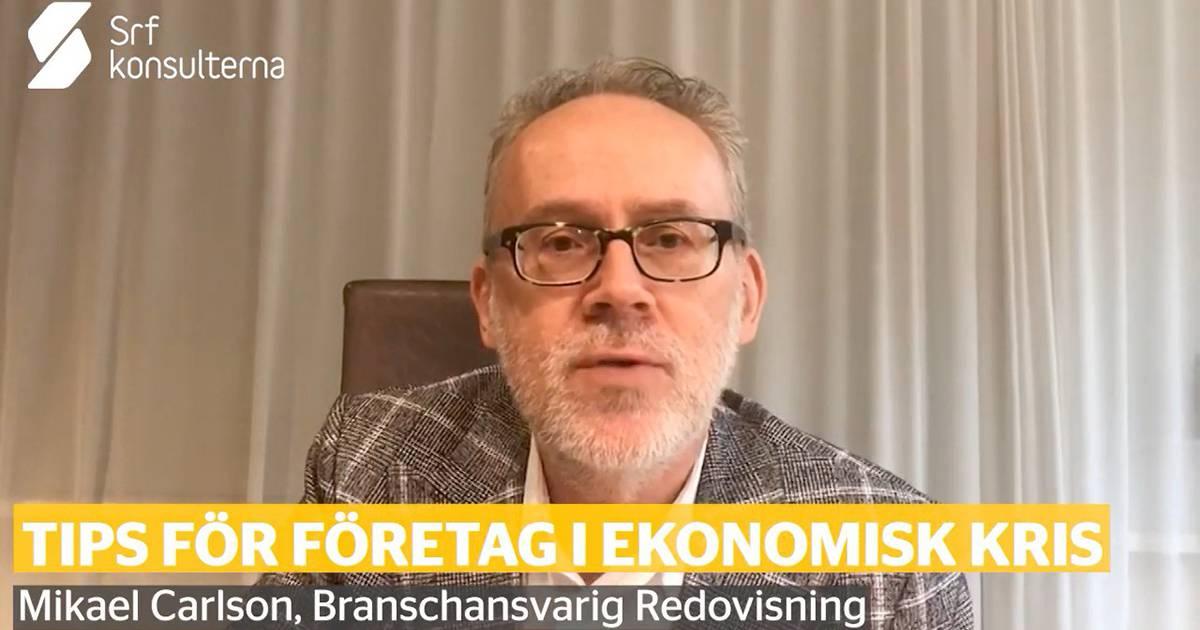 Konkreta tips till företag vid ekonomisk kris – Srf Konsulterna rådgivning
