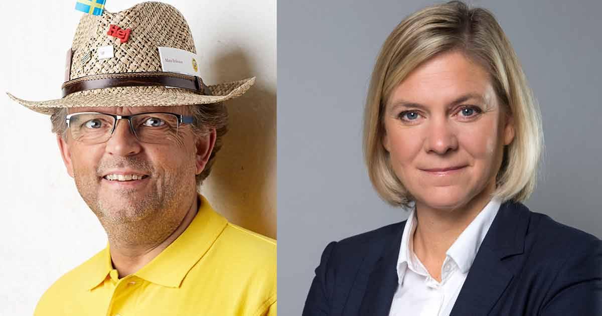 Mats Eriksson: Magdalena Andersson, ni överger småföretagarna